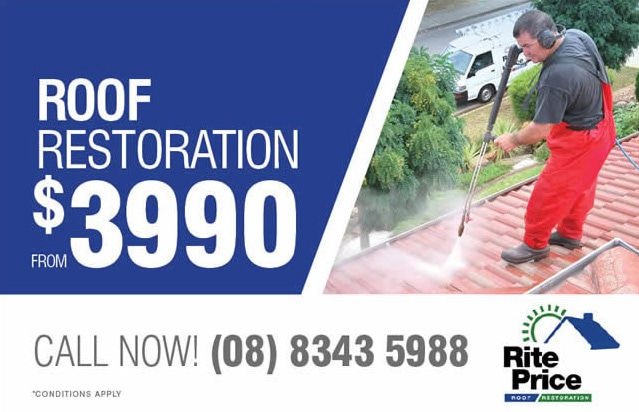 Rite Price Roofing roof restoration specials in Mawson Lakes