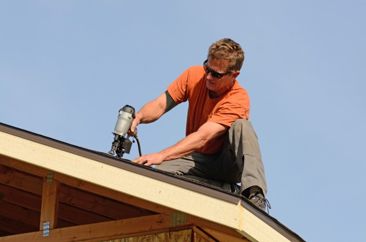 Roof repairs by qualified tradespeople.