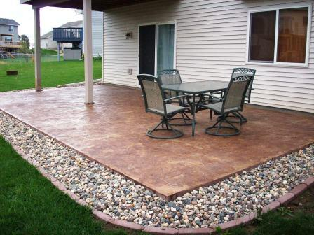 backyard appealing com patio stamped ideas designs for concrete using