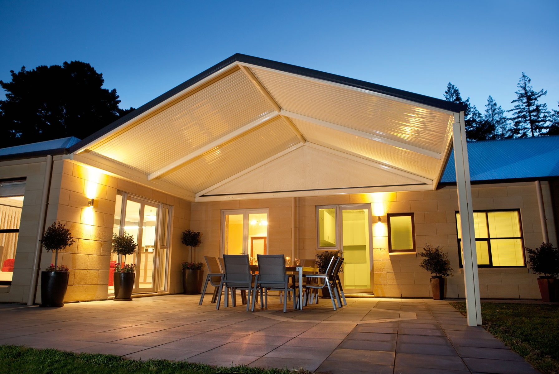 outdoor entertaining pergola Adelaide